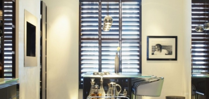 Kitchen shutters by Kelly Hoppen