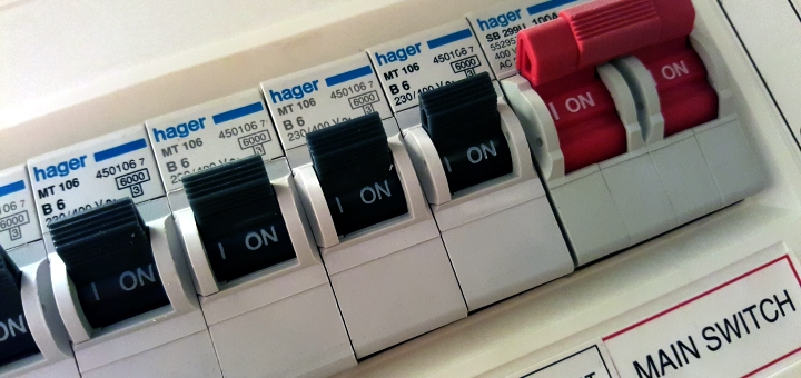 Know where your switches are! Photo credit: Graham Soult