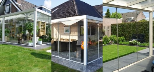 Examples of garden rooms
