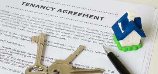 Tenancy agreement. Photograph by Hieng Ling Tie