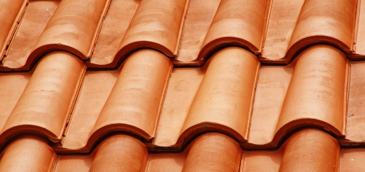 Roof tiles. Photograph by Elvis Santana