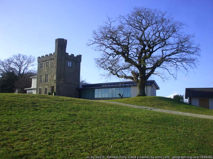 Kemeys Folly in Wales. Photograph by John Lord