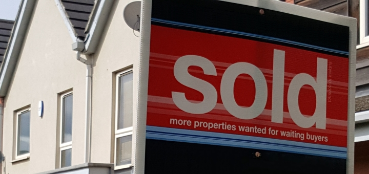Sold property. Photograph by Graham Soult