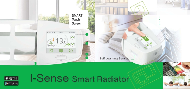 How the i-Sense Wi-fi Smart Radiator from Intelli Heat works