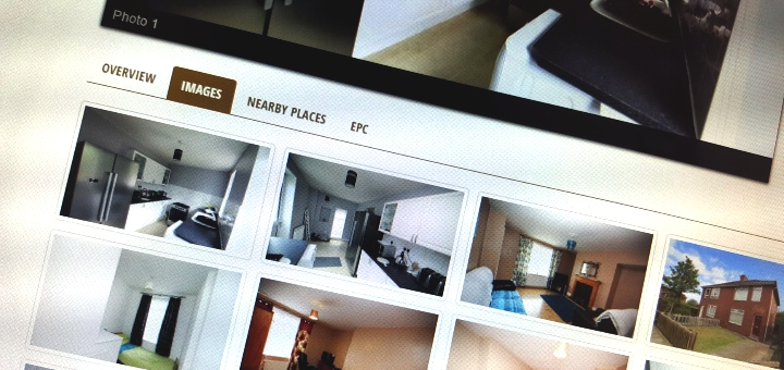 An effective letting agent site, with lovely pictures and local information. Photograph by Graham Soult