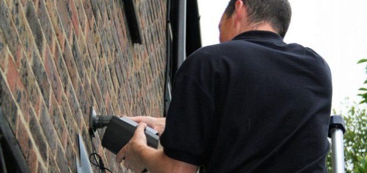 Installing CCTV on a property