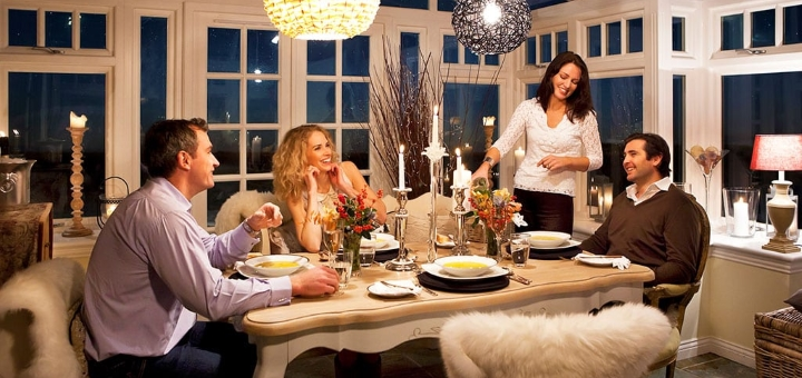 Prospective purchasers can imagine using the conservatory as a great dining space