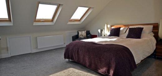 Bedroom loft conversion. Photograph by Abbey Lofts