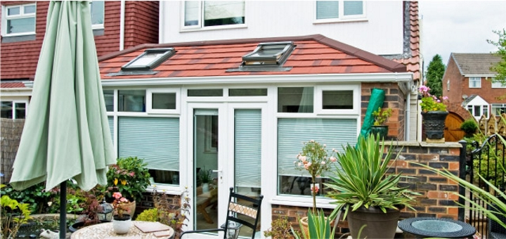 Replacement conservatory windows. Photo credit: Premier Roof Systems