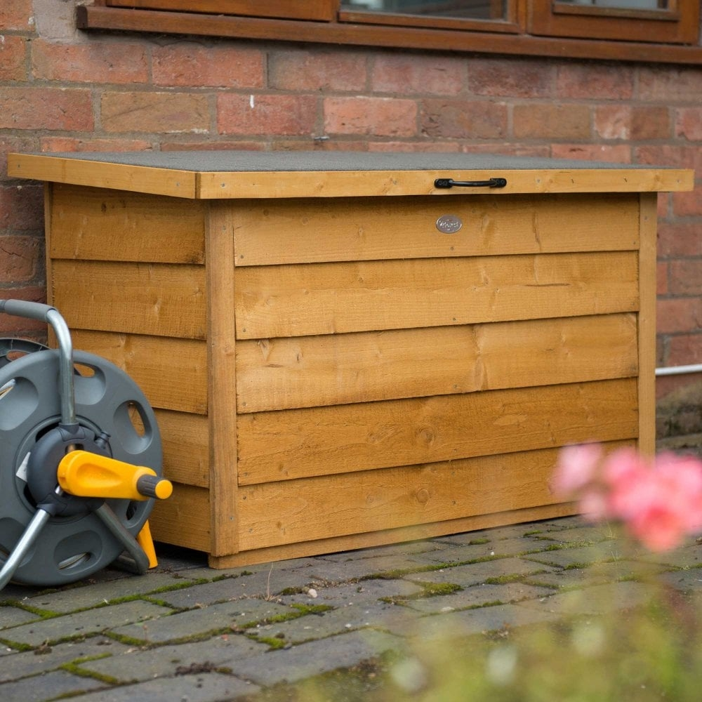 Forest Garden 4x2 Dip Treated Overlap Storage Box - £88