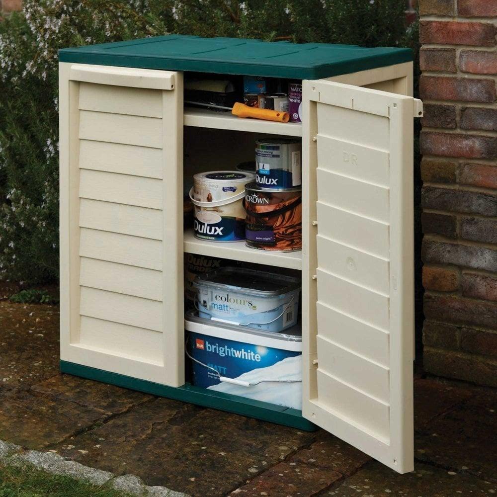 Rowlinson Plastic Utility Cabinet - £74