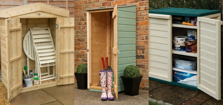 Small garden storage options from Simply Log Cabins