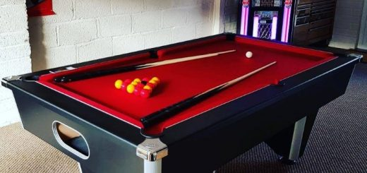 What kind of games room would you create? Photo credit: Home Leisure Direct
