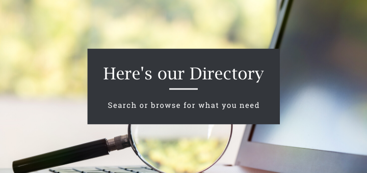 Search or browse our Directory