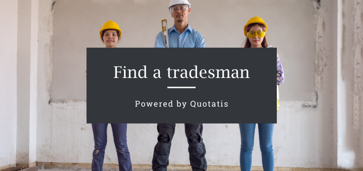 Find a tradesman - powered by Quotatis