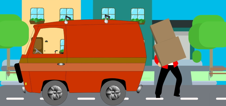 "A ""man with a van"" can be a suitable option if you're moving home. Image by Mohamed Hassan"