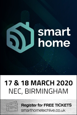 Register for your free tickets for Smart Home Expo this March