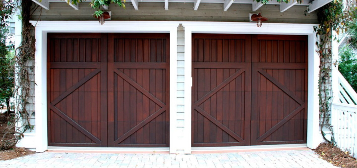 What happens if garage doors like these just *won't* open?