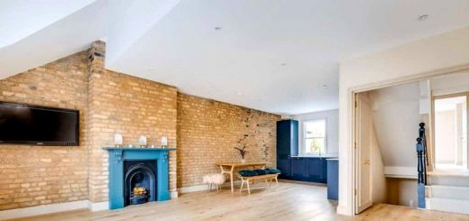 One of Clapham Construction's loft conversion projects in London
