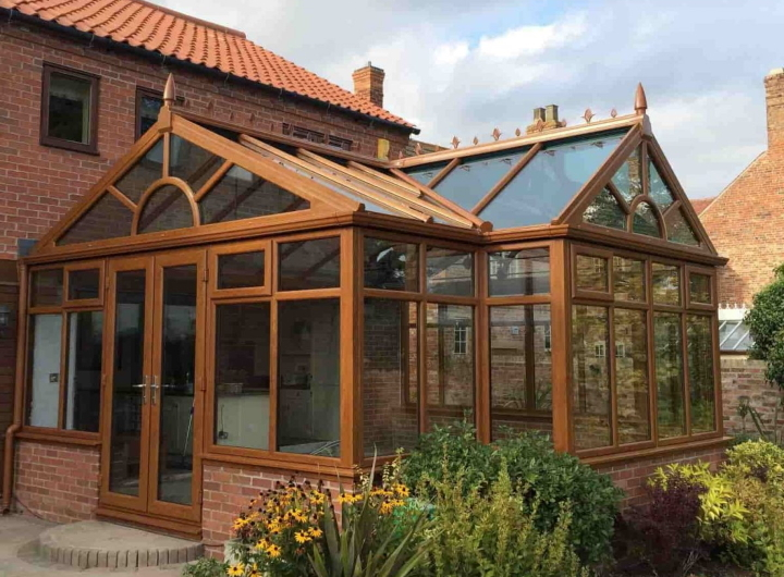 A glazed extension by Stormclad