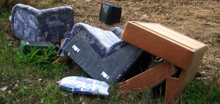 Fly-tipping is a big problem. Photograph by Gerd Altmann