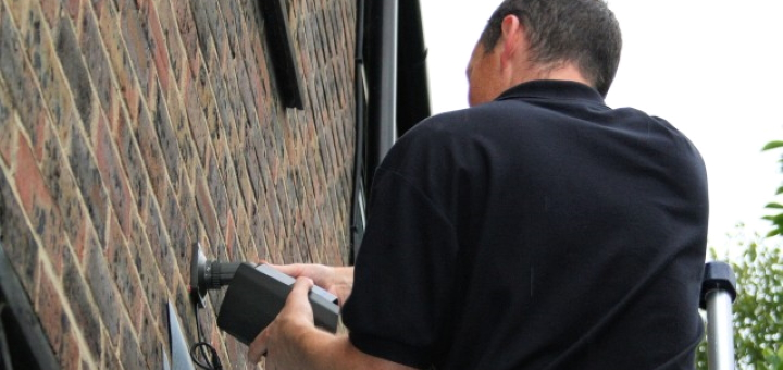 Fitting a CCTV system