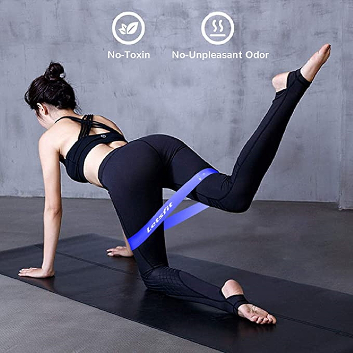 Resistance bands from Amazon